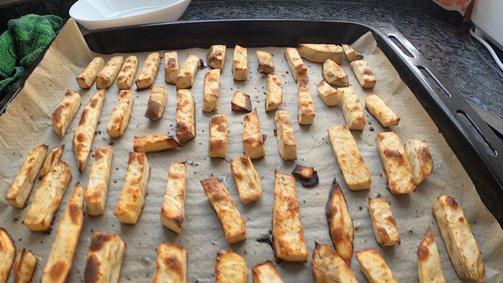 Como cocinar batata al horno