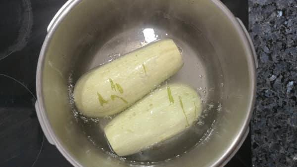 Calabacines rellenos saludables