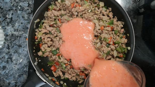 Carne para lasaña