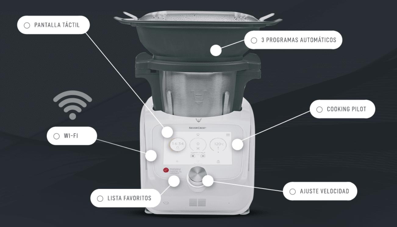 Detalles del Robot de Cocina Lidl