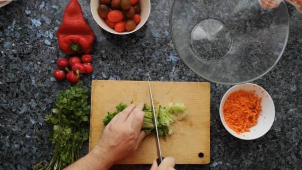 Ensalada de garbanzos receta casera