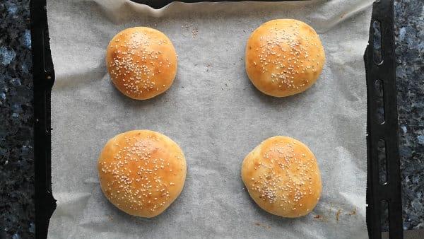 pan de hamburguesa receta