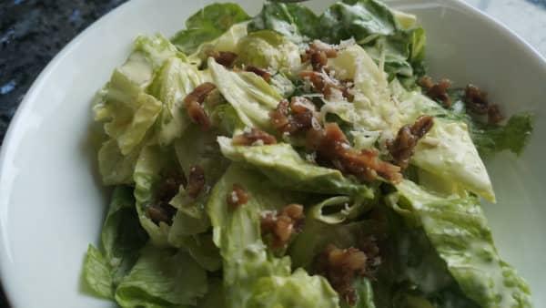 como hacer ensalada cesar