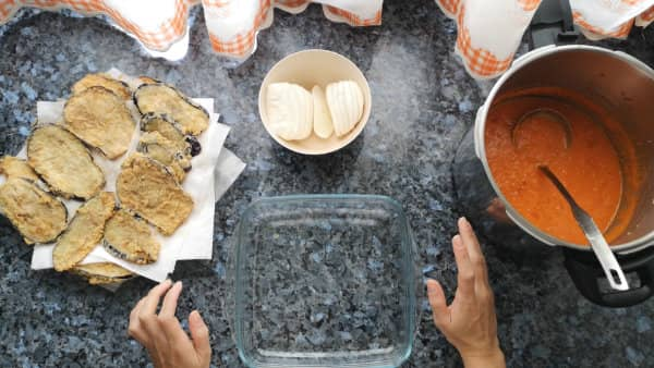 receta casera lasaña de berenjenas