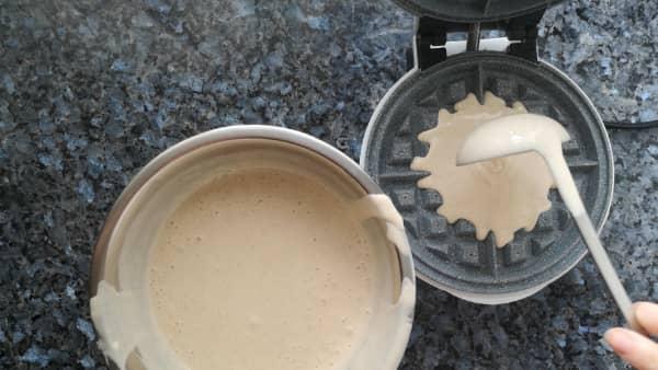 como hacer gofre casero