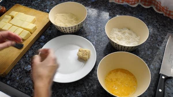 receta casera queso frito