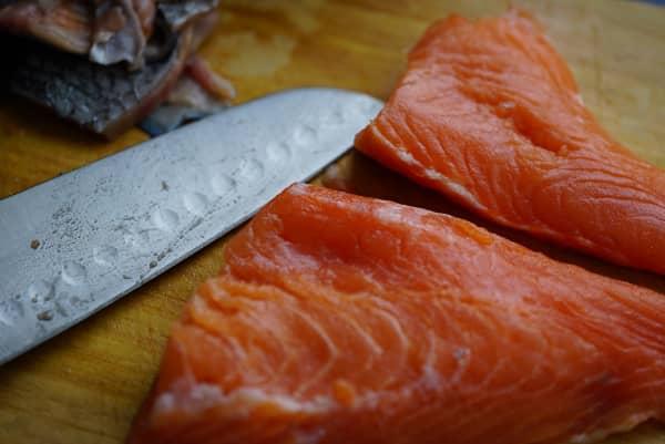Como preparar el salmón para un tartar