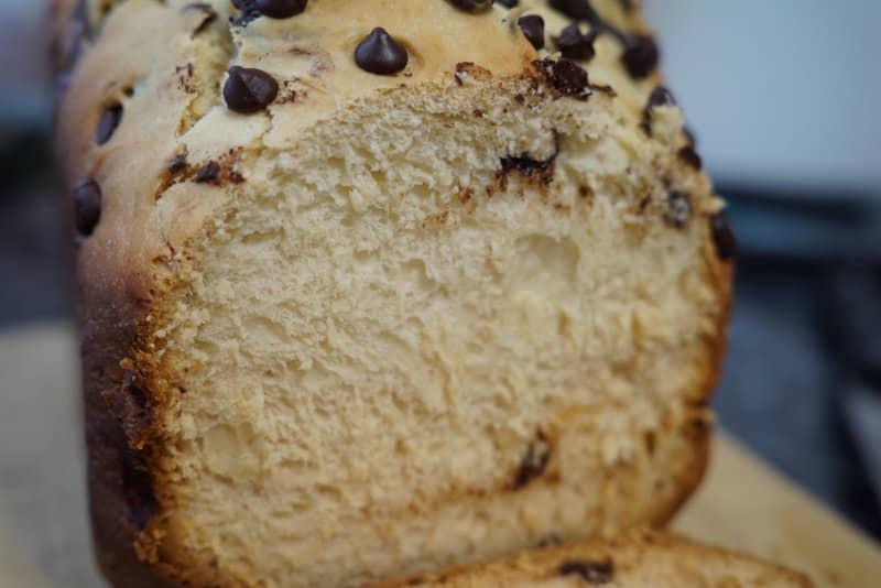 como hacer con panificadora lidl pan de leche con pepitas de chocolate