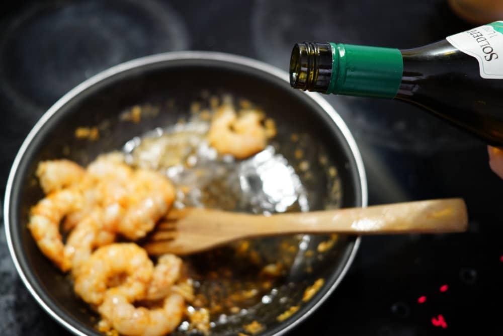 receta casera gambas al ajillo