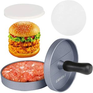 model prensa pan de hamburguesa casera